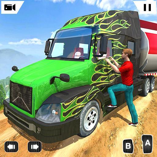 Offroad Oil Tanker Transport Truck Simulator 2019
