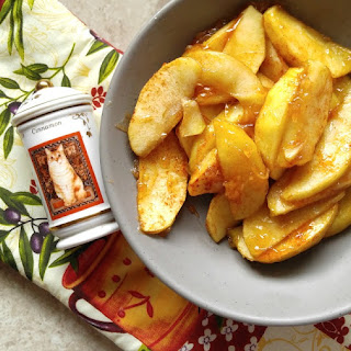 Cinnamon Baked Apple Slices.