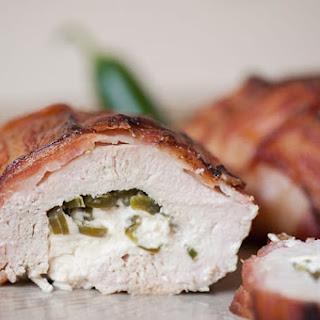 Bacon Wrapped Jalapeno Popper Chicken Recipe