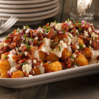 Blue Cheese Burger Totchos