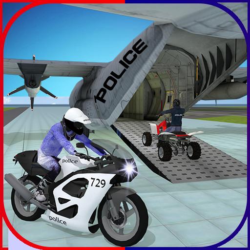 Police Plane Transporter: Moto