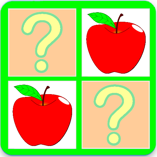 Fruits And Vegetables Memory Puzzle Game