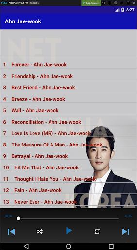Ahn Jae-wook Top Songs ss2