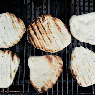 Pita Bread Made Three ways- Grilled, Baked or on the Stove Top..