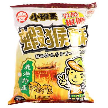 台灣小班長蝦猴酥岩燒椒鹽味(62g)