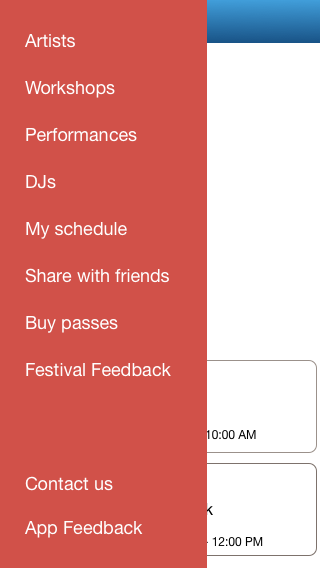 Dance Festivals- screenshot