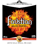 Wolverine State Faustian Baltic Porter