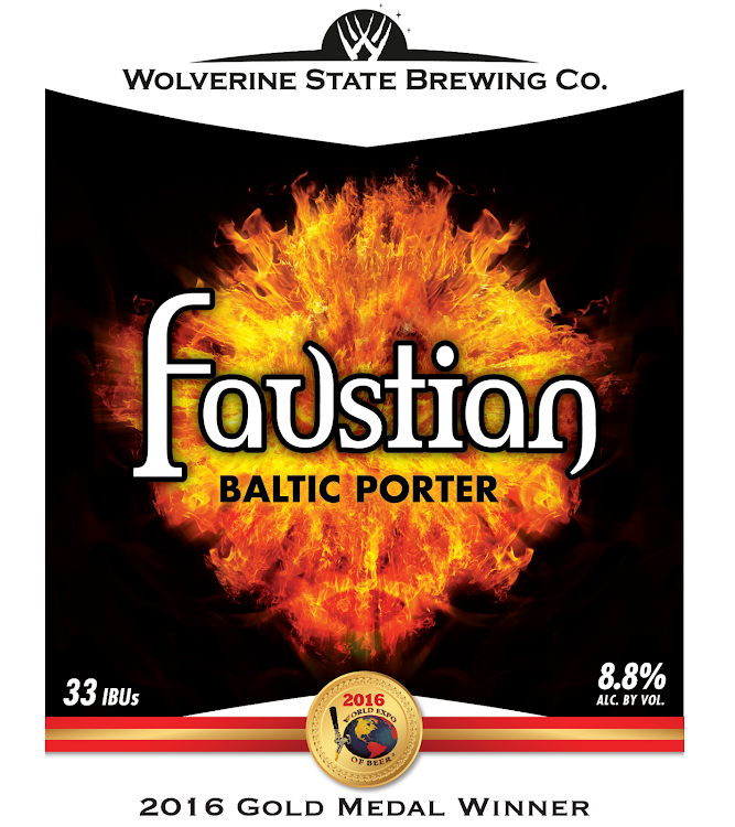 Logo of Wolverine State Faustian Baltic Porter