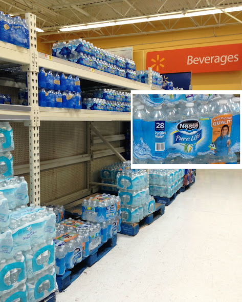 Nestlé® Pure Life® Water at Walmart