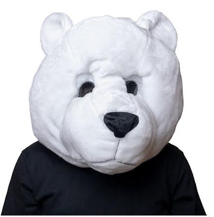 Maskothuvud, isbjörn