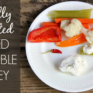 Naturally Fermented Pickled Vegetable Medley.