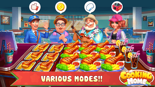 Cooking Home: Design Home in Restaurant Games 1.0.10 screenshots 4