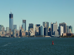 Photo: View on Manhattan from the Staten Island Ferry.