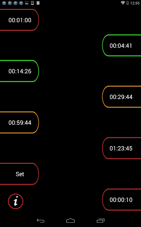 Multiple Timer PRO- screenshot