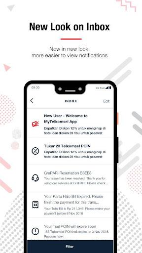 MyTelkomsel screenshot 3