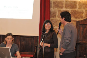 Photo: Catherine Daoud (Présidente CISIC), Mme Martine Sillon (Orthophoniste, Institut Saint Pierre) et José Zirah