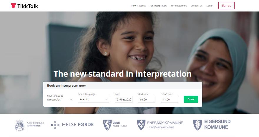 TikkTalk is a B2C marketplace startup