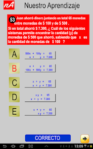 PSU Matemática Prueba Ensayo screenshot 6