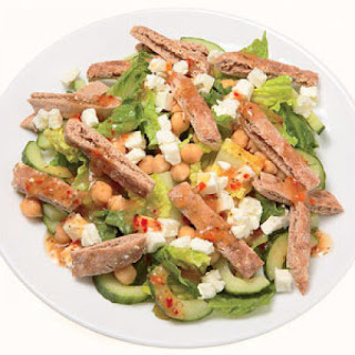 Greek Chopped Pita Salad