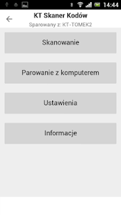 KT Skaner Kodów- screenshot thumbnail