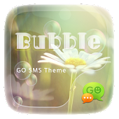 (FREE) GO SMS BUBBLE THEME