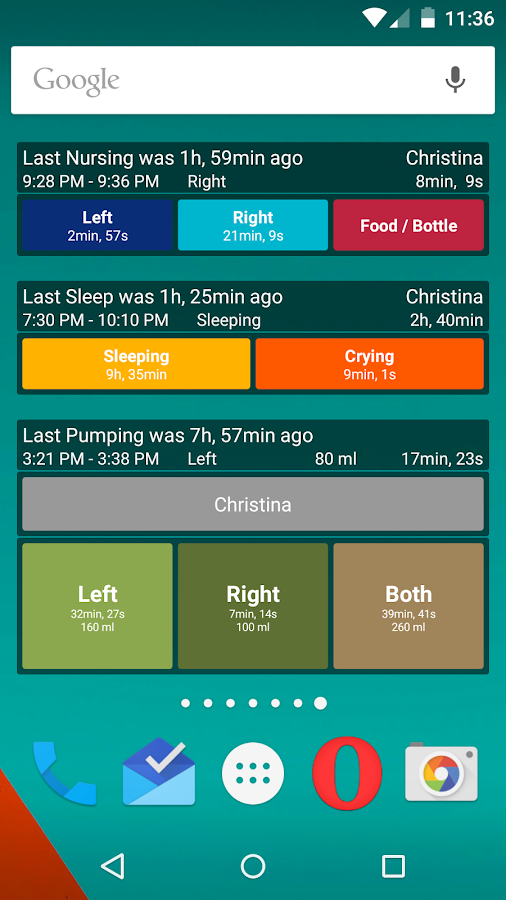 Breastfeeding - Baby Tracker- screenshot