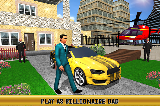 Virtual Billionaire Dad Simulator: Luxury Family apkmr screenshots 13