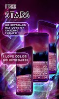 Screenshot of Free Stars Sound Keyboard