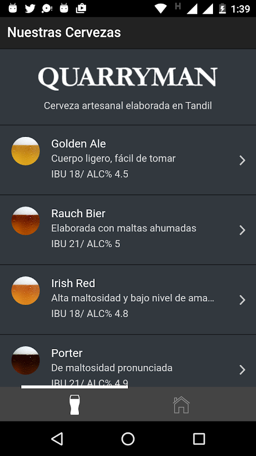 Cerveza Quarryman- screenshot