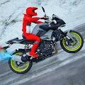 Snow Mountain Bike: 4x4 Offroad Stunts Maniacs APK