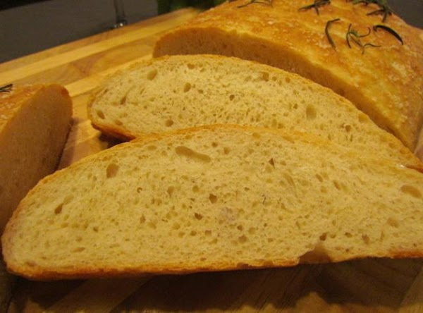 Sprinkle with fresh Rosemary.  This is great bread!!!! You will love me for this one.