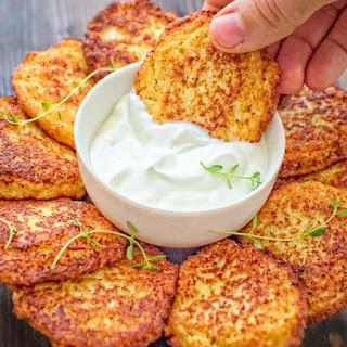 Basic Cauliflower Fritters.