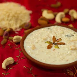 Chawal ki Kheer – Rice Pudding.
