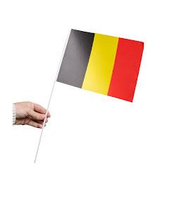 Pappersflagga, Belgien
