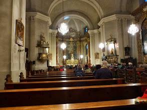 Photo: Um 6 Uhr beginnt die Wallfahrt in der Kirche