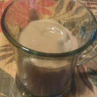 Creamy Low Carb Chocolate Frosty Shake