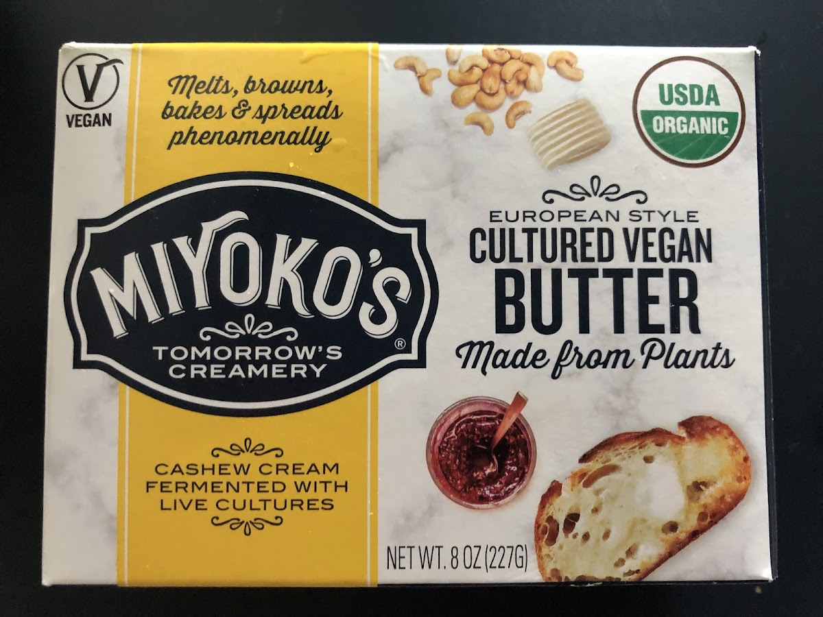 Cultured Vegan Butter