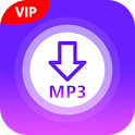 VIP : MP3 Music Downloader (No Ads) icon