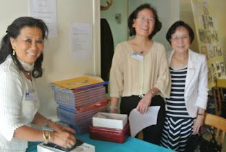 Photo: Lam Diên, Thanh Vân, Clémentine