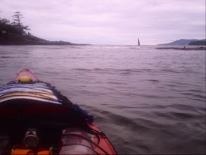Photo: Launching at Harwood Point.