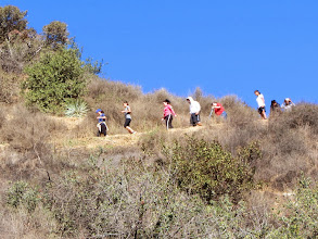 Photo: I estimate that there will be hundreds of trail users on Garcia Trail today
