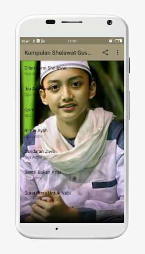Kumpulan Lagu Sholawat Gus Azmi MP3 Merdu for PC