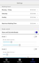TimeOrg - Time Sheet screenshot thumbnail