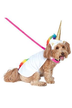 Hunddräkt, Unicorn cape M