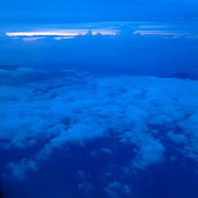 morning bali sky by Bobby Dozan - Instagram & Mobile Android ( instagram, blue sky, android, on airplane, cloud, morning, mobile )