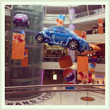 Photo: Floating cars in Metropolis at Metrotown, Burnaby #car #float #vancouver #mall #intercer - via Instagram, http://instagr.am/p/Md1cZxpftI/
