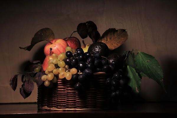 Canestra di frutta... Caravaggio di ScrofaniRosaria