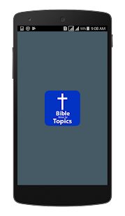 Bible Verses By Topics - náhled