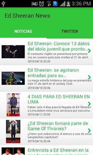 Ed Sheeran Noticias
