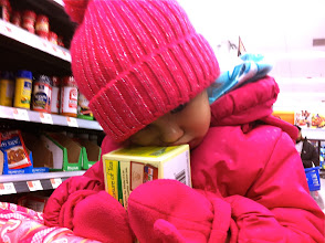 Photo: Princess wouldn't let go of the box #bigelowtea